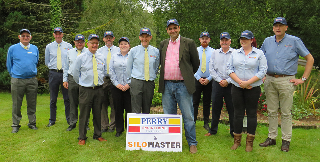Perry of Oakley sales team